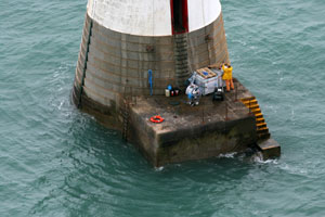 Beachy Head Lighthouse Save the Stripes 21st September 2013