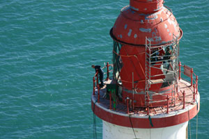 Beachy Head Lighthouse Save the Stripes 23rd September 2013