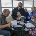 Rob Wassell book signing at Belle Tout by Raymond Hughes