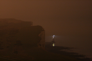 Beachy Head Lighthouse at night