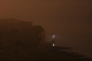 Beachy Head Lighthouse at night