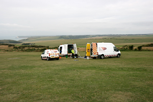 UK Power Networks power problems on the Beachy Head Lighthouse